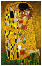 Gustav Klimt The Kiss Poster Art Print 11x17 Limited Edition