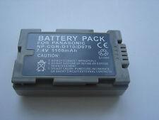 Batterie pour PANASONIC CGR-D110 CGR-D120T CGR-D16S