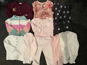 BABY TODDLER GIRLS MASSIVE BUNDLE 12-18 Months JOHN MEWIS NEXT F&F Outfits Cardi