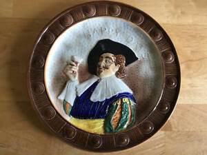 Vintage Decorative Plate - Falcon ware - Made in England. Cavalier. Happy Days