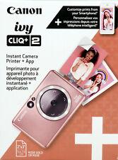 Canon IVY CLIQ+2 Instant Camera Printer  Smartphone Printer  Rose Gold 4519C001