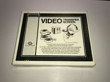 Vintage HP Telescreen Video Transfer Viewing Editing Screen Hudson Photographic