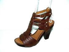 S.OLIVER braune Plateau Sandaletten Pumps Damen 38 UK 5 Sommer Schuhe TOP