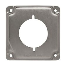 "Raco #810C 4"" Single Receptacle Cover"