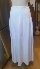DRIES VAN NOTEN Wide Long White Skirt-Sz.36  ~ Sale Price ~ FREE Shipping