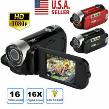 Video Camera Camcorder Vlogging Camera Full HD 1080P Digital Camera 16X Zoom