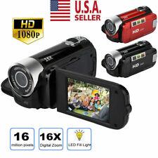 1080P Camcorder Digital Video Camera TFT LCD 24MP 16x Zoom DV AV Night Vision