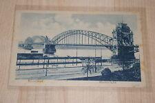 *Deutsches Reich AK *Düsseldorf - Rheinbrücke* belgische Militärpost 30.4. 1919