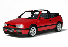 Otto Mobile 1/18 VW Volkswagen Golf 3 Cabriolet Sport Edt. Red OT202