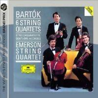 EMERSON STRING QUARTET - BARTOK-6 STRING QUARTETS  (GA) 2 CD 23 TRACKS NEW+