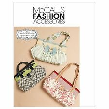 McCall's Patterns M6090 handbag, purse, market tote, Bags, One Size Only