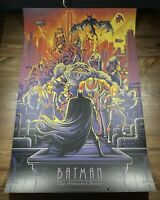 """Batman: The Animated Series"" Art Print Poster By Dan Mumford XX/200 BNG Mondo"