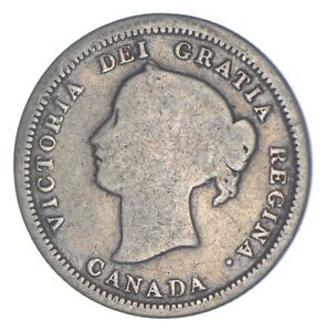 Better Date - 1870 Canada 5 Cents - SILVER *788