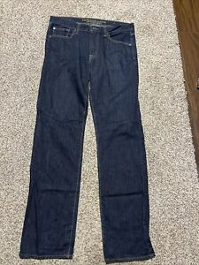 AE AMERICAN EAGLE OUTFITTERS ORIGINAL STRAIGHT MEN'S JEANS SIZE 34X36
