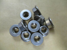 New listing 7Pcs. 3001122-100 M10-1.50 Hex Flange Nut A2 Stainless Steel