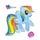 "My Little Pony Rainbow Dash Supershape Foil Party Balloon - 28"" 71cm W X 27"" 68c"