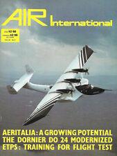 Air International V25 N4 Aeritalia RTPS Boscombe Merlin Mustang F/A-18 Hornet