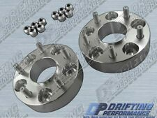 """Hub Centric 1.5"""" (38mm) Wheel Adapters Spacers 5x114.3 12x1.5 Studs 60.1mm CB"""