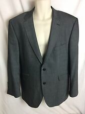 New Gibson London Mens Suit Jacket Blazer Charcoal Wool Sz 44 S EU 54 S