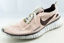 Nike Size 10 M Pink Lace Up Running Fabric Shoes