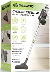 Daewoo Cyclone 600w Corded Stick Vacuum For Carpets and Hard Floors RRP £60