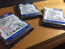 Lot 4 HDD 320Go 2,5p SATA 5400t & 7200t /Western Digital WD3200BEVT & Toshiba