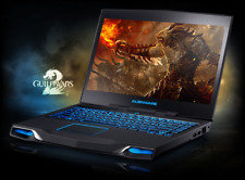 "Alienware Dell m14x r2 i5-3210M 8gb Ram 500GB Win10 14"" GT 650M Gaming Laptop"
