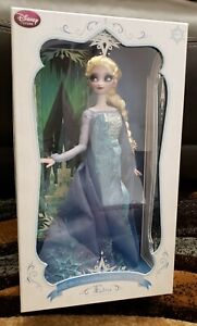 """Disney Store Elsa Snow Queen Limited Edition 17"""" Doll Frozen #527 (LE of 2500)"""