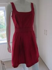 Coast Nadina cerise pink 100% silk cocktail dress short prom dress size 6 £95
