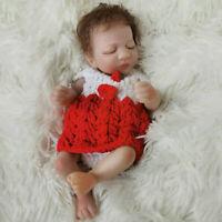 "25cm Full Body Reborn Baby Dolls 10"" Newborn Infant 100% Waterproof Mini Gifts"