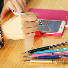 8x2IN1 Bling Stylus Capacitive Touch Screen Ballpoint Pen for iPhone iPad Tablet