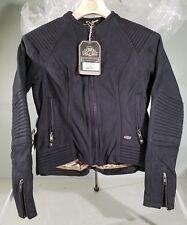Roland Sands Designs Black Quinn Leather Ladies Jacket small 0801-1231-0052
