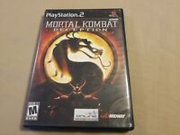 Mortal Kombat: Deception PS2 (Sony PlayStation 2, 2004) Tested Good