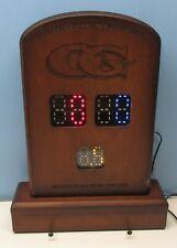 Vintage Olhausen Games Shuffleboard Tablet Scoring Unit