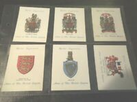 1933 Wills coat of ARMS OF THE BRITISH EMPIRE 1st ser. cards Tobacco Cigarette