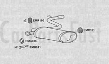 Exhaust Rear Box Toyota Celica 1.8 Petrol Coupe 10/1999 to 02/2001