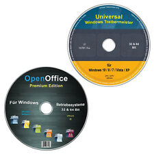 Universal Treiber-Meister für Windows + OpenOffice Premium Edition (Spar-Set)