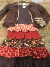 Gorgeous Persnickety Girls 8 Long Sleeve Ruffle Dress Jacket Lot