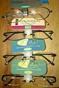 4 pairs READING GLASSES +1.50 NEW Name brand