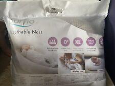 purflo baby nest New Newborn Sleep Beige Nursery Unisex Pillow
