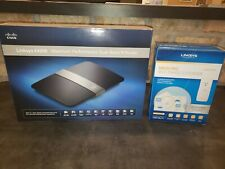 Linksys E4200 Router with Linksys Wi-Fi Range Extender