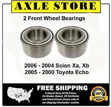 2 New Front Wheel Bearings for 2004-06 Scion xA xB, 2000-05 Toyota Echo - 510062