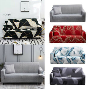 Living Room Sofa Cover European Style Elastic Stretch Couch Anti Slip Stylish