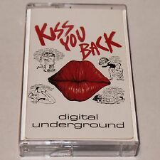 Digital Underground Kiss You Back Maxi Single Cassette Tape Hip Hop Rap