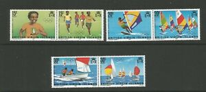 British Virgin Islands,1984 Olympic Games Los Angeles Unmounted Mint SG 531/6