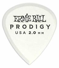 Ernie Ball 9203 Prodigy Mini Plektrum 2,0mm 6er Pack Guitar Delrin Weiß