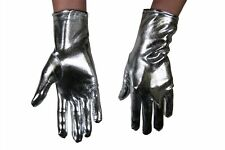 Show Karneval 1 Paar fingerlose Paillettenhandschuhe Pailletten-Handschuhe