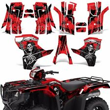 Graphic Kit Honda Foreman 500 ATV Quad Decals Stickers Wrap 2015 2016 REAP RED