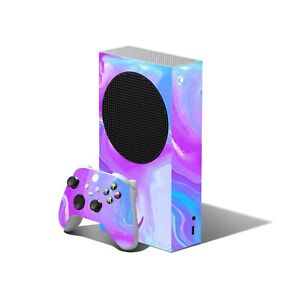 PASTEL Swirl Skin for XBOX SERIES S Console Controller Wrap Decals Cover Sticker