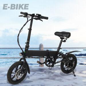 Megawheels Électrique Vélo Pliant E-Roller Scooter14 in 250W 36V